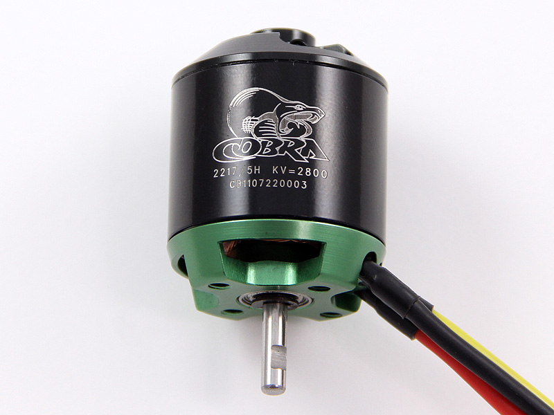 Cobra C-2217/5H Brushless Motor, Kv=2800
